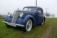Jawa minor limuzína  2/1939
