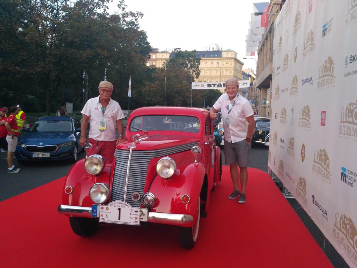 Závod  1000 MIL Československých  2020 prověřil kvalitu vozů JAWA.